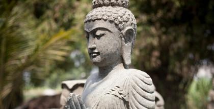 Buda jardin estatuas y esculturas de jard n en piedra decoraci n del jard n - Estatuas de jardin ...