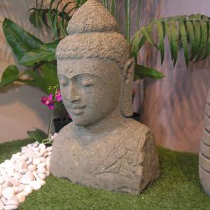 Buda jardin estatuas y esculturas de jard n en piedra - Estatuas de jardin ...