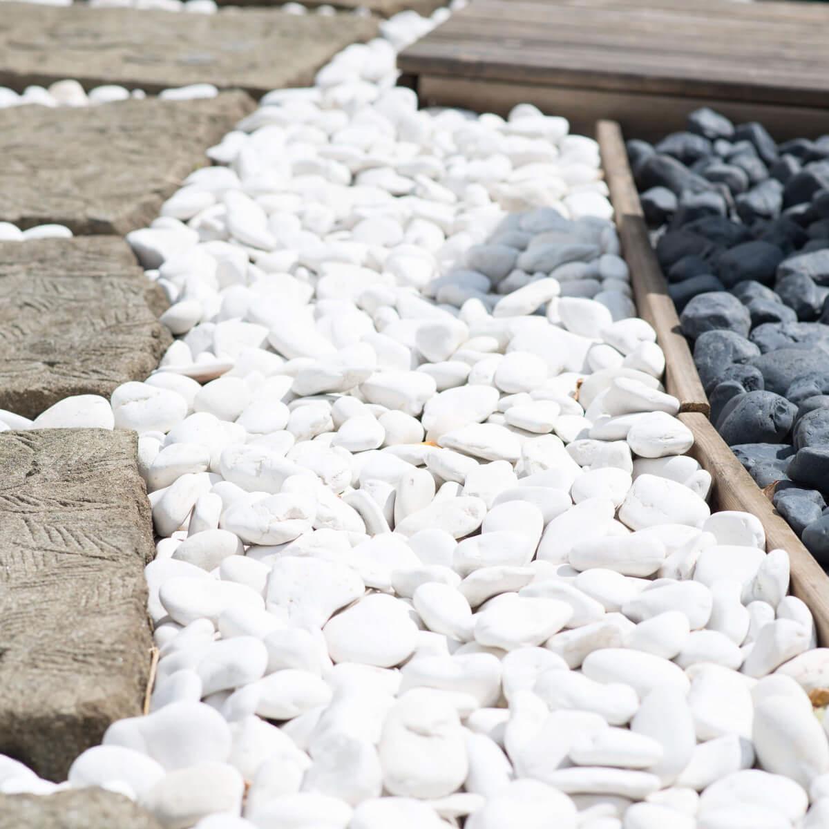 5 Bolsas De Piedras Blancas De 20 Kg