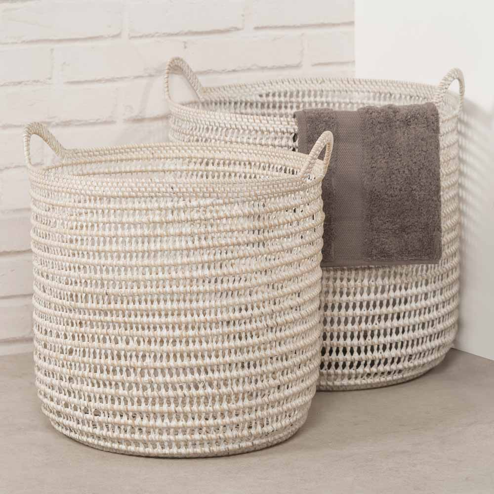 Cesta cuarto de ba o cesta de almacenaje para cuarto de for Cesta para muebles de bano