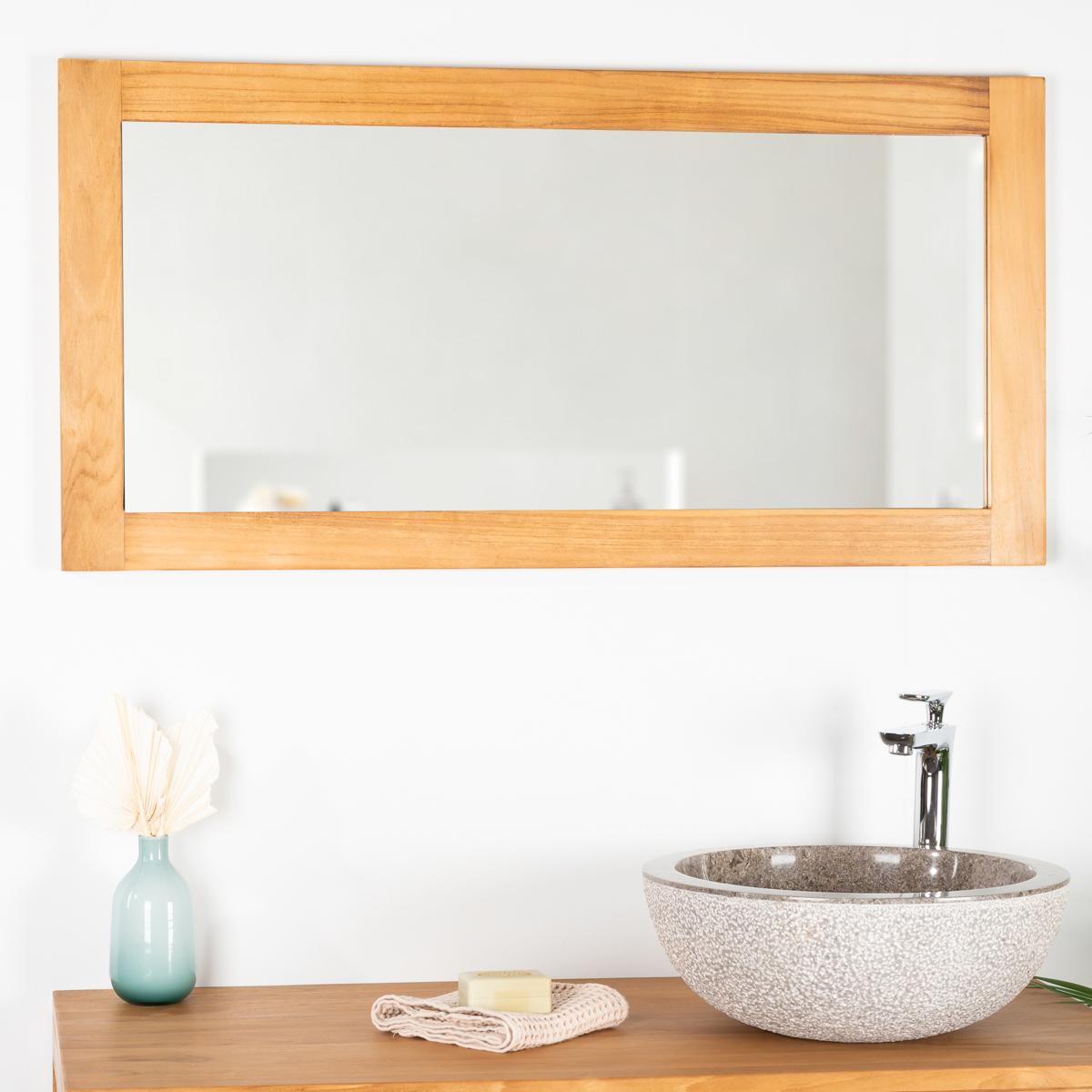 Espejo cuarto de ba o 100 x 50 for Espejos cuarto de bano