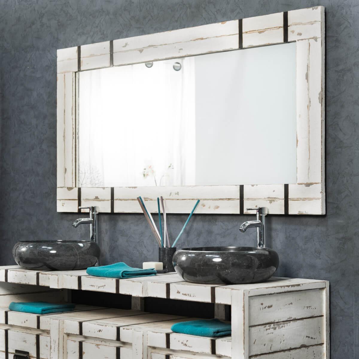 Espejo grande para cuarto de ba o loft 160 x 80 for Espejo pared habitacion