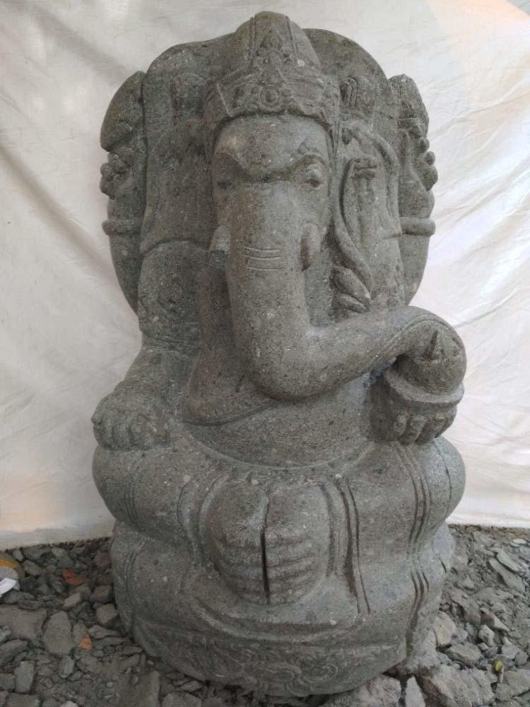 Estatua de jard n ganesh de piedra 90 cm - Estatuas de jardin ...