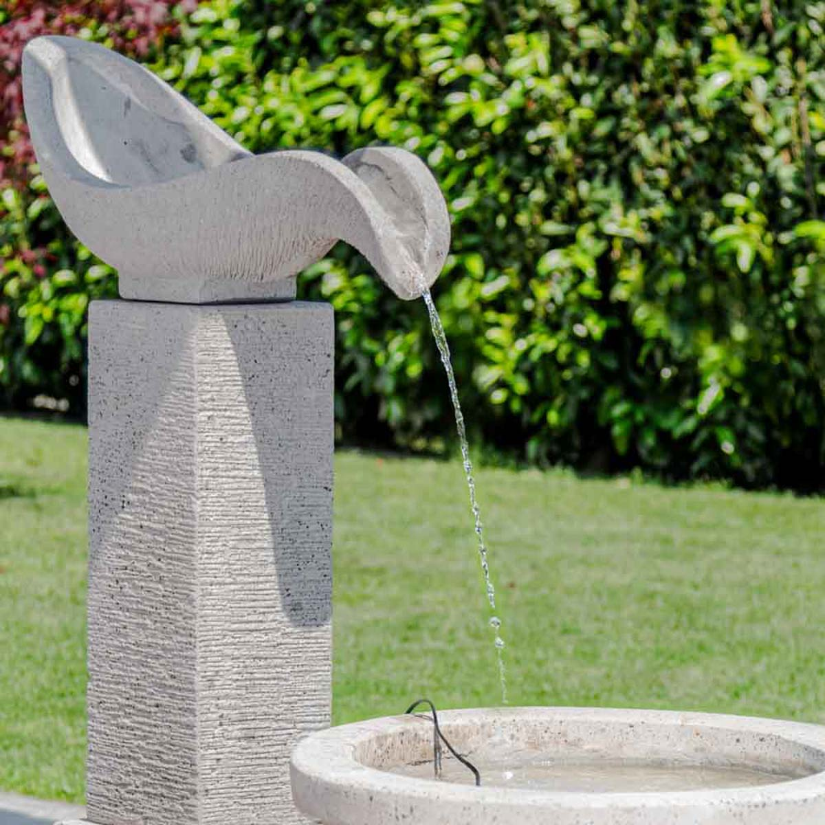 Fuente de jard n fuente exterior cascada 120cm for Cascada exterior